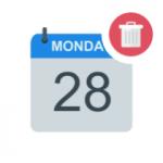 Delete event